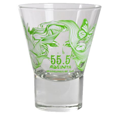 Absinth 5.55 Glas Frühling
