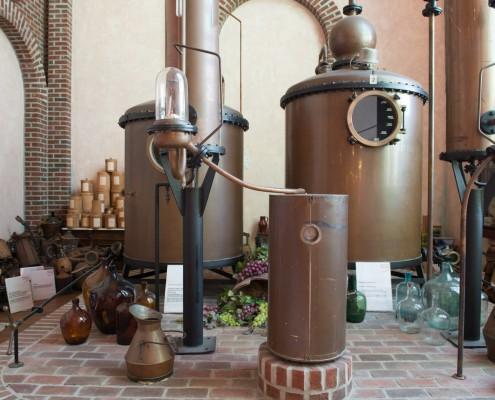 Schnapsmuseum - Weinbrennerei aus den 50er Jahren