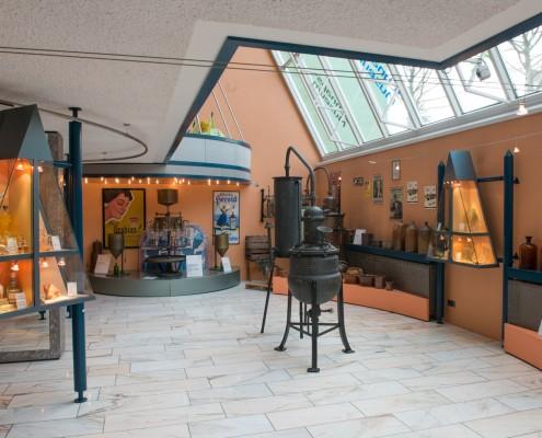 Blick ins Schnapsmuseum