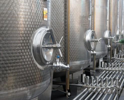Gräf´s Edelstahltanks á 15.000 Liter