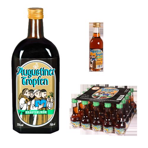 Augustiner Tropfen Produktfamilie