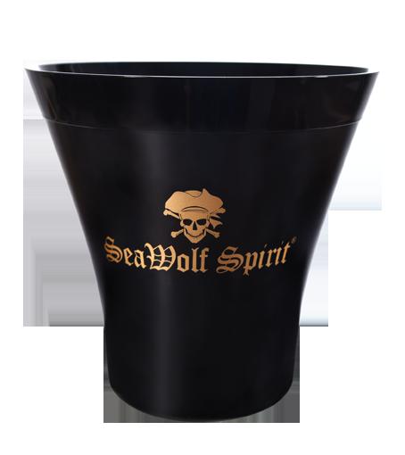 """Flaschenkühler Cool Ice Bucket """"Boot"""" - vorne"""