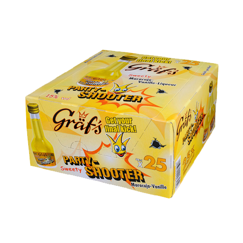 Gräf's Party-Shooter Sweety 25/20ml